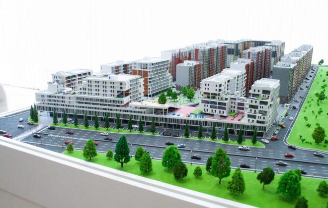 макет жилого комплекса (2)