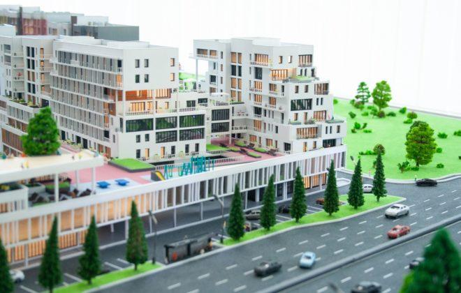 макет жилого комплекса (3)