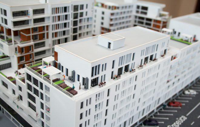 макет жилого комплекса (4)