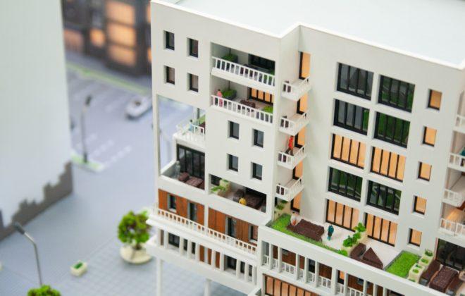 макет жилого комплекса (5)