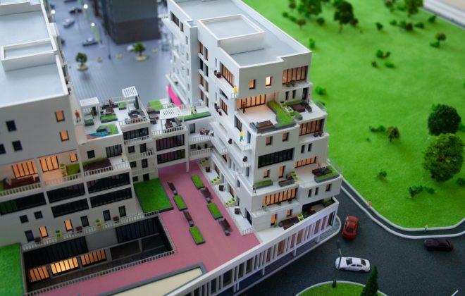 макет жилого комплекса (6)