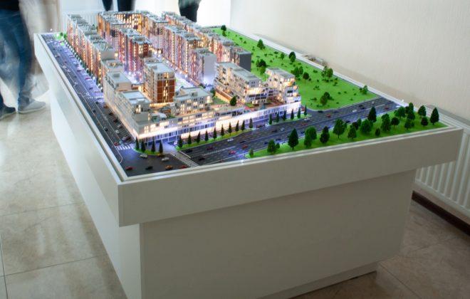 макет жилого комплекса (7)