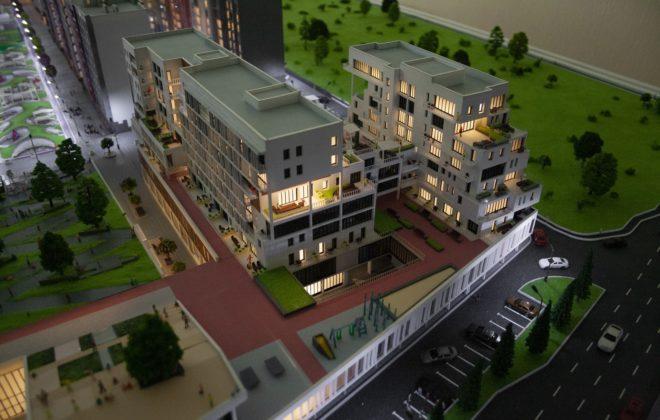 макет жилого комплекса (8)