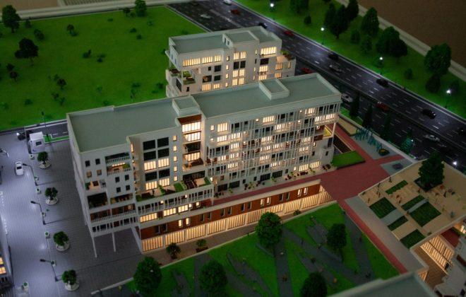 макет жилого комплекса (9)